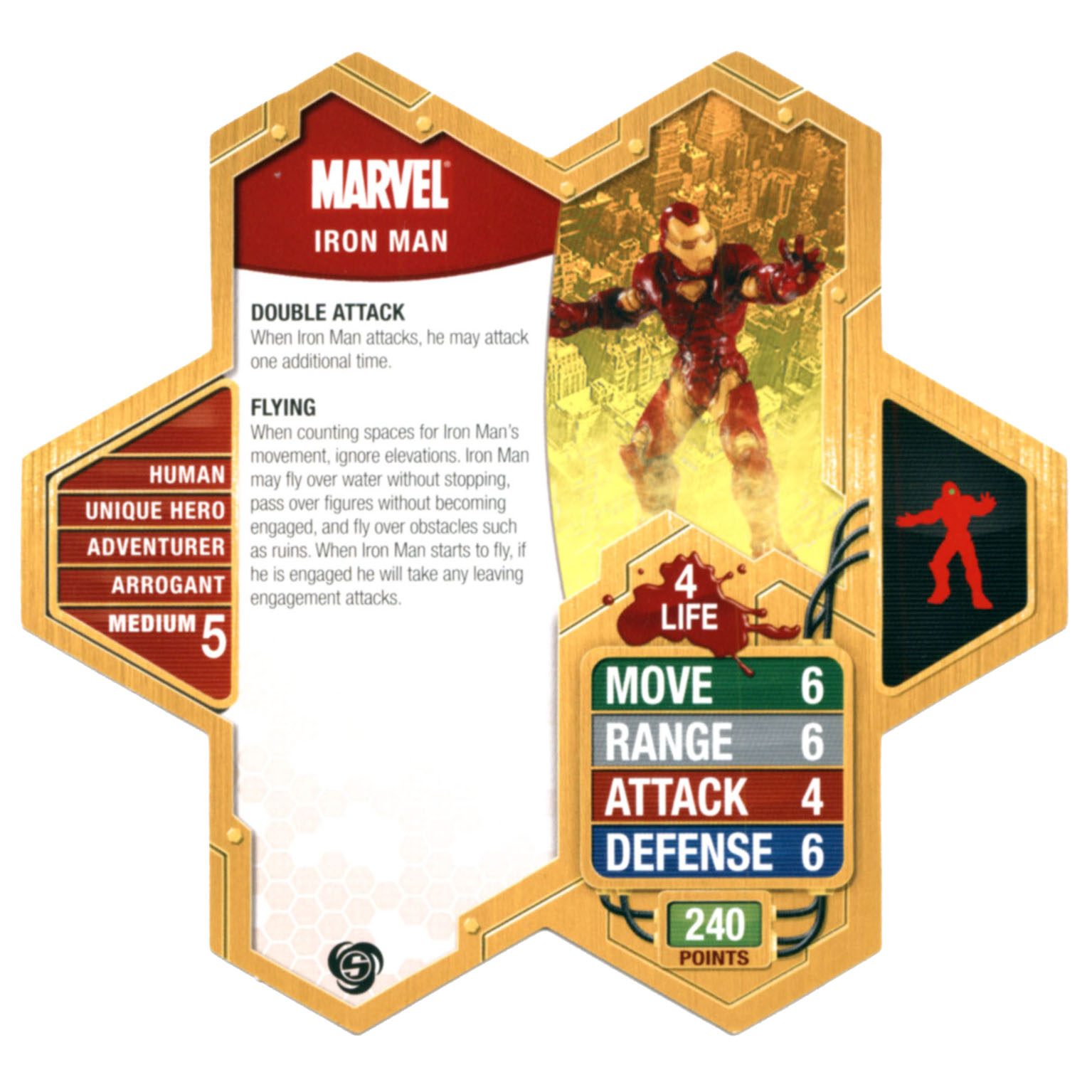 Carte expert (anglais) Iron Man