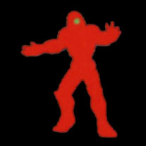 Silhouette Iron Man